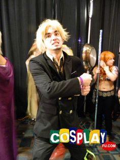 Sanji Cosplay from One Piece in Animate!Miami 2014 US