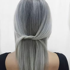 How to Maintain Silver Hair - The Right Way | herintentions