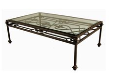 wrought iron coffee table | large wrought iron coffee table marble