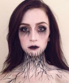 A haunting Halloween makeup DIY to inspire your wildest dreams and worst nightmares