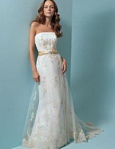 o rochie de mireasa superba