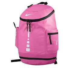 pink Nike elite team hoop backpack