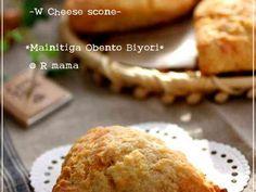 簡単!冷めても美味しいチーズスコーン♪の画像