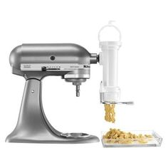 Fuel your culinary passion with the revolutionary KitchenAid Attachments Stand Mixer Attachment Gourmet Pasta Press, product number KSMPEXTA. Kitchenaid Artisan Mixer, Kitchenaid Pasta Press, Kitchenaid Artisan Cook Processor, Kitchenaid Stand Mixer, Kitchen Aid Parts, Kitchen Aid Mixer Attachments, Kitchen Aide, Kitchenaid Attachments, Spaghetti