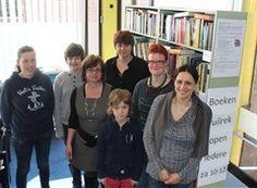 Vrijwilligers bij boekernuilrek leuk idee in Lokeren