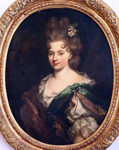 Portrait de la comtesse de Montesquiou, seconde épouse du Comte, à l'age de 20 ans, Nicolas Largillière