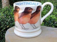 EMMA BRIDGEWATER Birds • Nightingale • 1/2 pint MUG