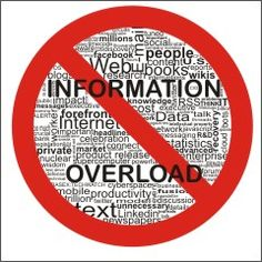 A blog from www.businessbuddy.me.uk highlighting how to deal with information overload