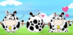 3 Cows by Frog-FrogBR