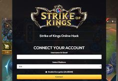 Strike of Kings Unlimited Ruby Unlimited Gold Online Hack and Cheats http://aifgaming.net/strike-kings-online-hack-cheats/
