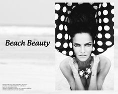 Beach Beauty – Bruna Castanheira (ABA Management) takes model Barbara Fialho to the beach in these stunning portraits captured for FGR's latest exclusive.