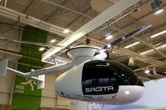 Sagita Sherpa Sıcak Hava Türbiniyle Helikopteri Yeniden Keşfediyor
