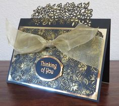 Crafter's Companion Edgeable, and Sue Wilson embossing folder.