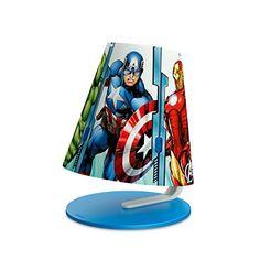 Philips Marvel Avengers Children's Table Lamp - 1 x 4 W Integrated LED