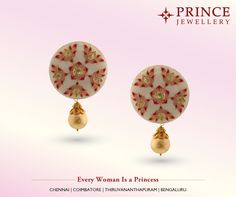 Let all eyes turn towards you with these stylish Silver earring moulded with gold polish from Prince Jewellery. Silver Earrings, Stud Earrings, Silver Ornaments, Gold Polish, All About Eyes, Prince, Jewellery, Stylish, Accessories