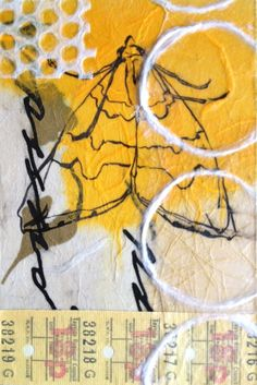 Golden Boy, Collage on Panel by Liz Carlson Arts and Illustration 2014