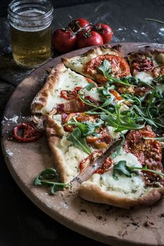 BLT Pizza | Photography & Styling by Regan Baroni | Up Close & Tasty