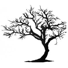tree tattoos tree of life tattoos dead tree tattoo tree tattoo designs Silhouette Tattoos, Silhouette Clip Art, Silhouette Images, Tree Tattoo Designs, Tree Designs, Tattoo Ideas, Tattoo Life, Tree Wall Art, Tree Art