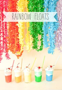 rainbow floats {stevie pattyn for shop sweet lulu} - another fun one for #stpatricksday !