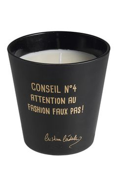 Bougie CRISTINA CORDULA Candle Jars, Candles, Boutique, Chic, Collection, Fashion, Humor, Shabby Chic, Moda