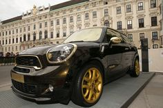 MINI Paceman gets the Roberto Cavalli treatment. Mini Cooper Paceman, Mini Clubman, Riders On The Storm, Morris Minor, Smart Car, Love Car, Top Gear, Classic Mini, Go Kart