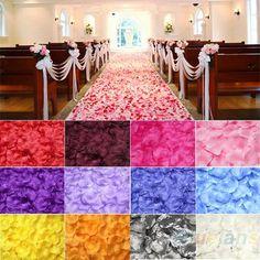 100 stuks roze bloemblaadjes zijde bladeren bruiloft tafeldecoratie event party benodigdheden multi color in  van  op Aliexpress.com