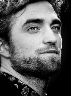 Rob Pattinson... I think I forgot how to breathe for a second...