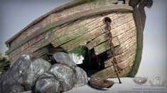 OLEKSANDR NOVIKOV - 3D Modeler / Prop Artist: ShipWreck