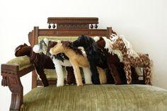 cute..handmade stuffed horses..:)