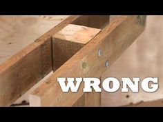 How To Build A Deck   #3 Decking [Posts/Border/Decking] - YouTube
