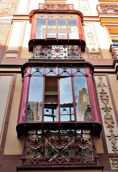 Miradores de la calle Barbieri.