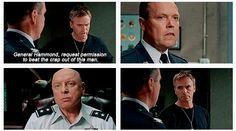 Stargate SG-1: Jack threatens Colonel Maybourne