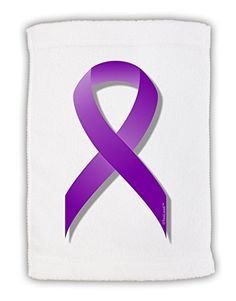 TooLoud Epilepsy Awareness Ribbon  Purple Micro Terry Sport Towel 11x18 ** Read more  at the image link.