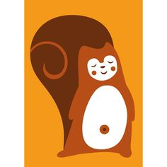 PaaPii Design - Postikortti Orava
