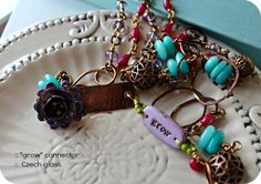 By Lori Anderson, via Sally Russick   http://www.prettythingsblog.com/2013/03/the-7th-bead-soup-blog-party-first.html