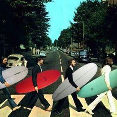 Abbey Road - The Beatles - Surfing