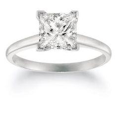 https://ariani-shop.com/3-4-carat-princess-shape-14k-white-gold-solitaire-diamond-engagement-ring 3/4 Carat Princess Shape 14K White Gold Solitaire Diamond Engagement Ring