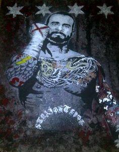 CM Punk by Jordy Coyle #WWE