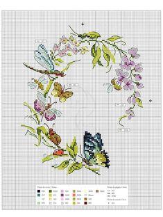 Oiseaux, papillons et petites betes au point de croix 2017. — HandMade
