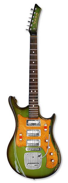 Ural 650A Art. 422 Guitar made in the Soviet Union 1975-1977. Seriously ugly but certainly original.