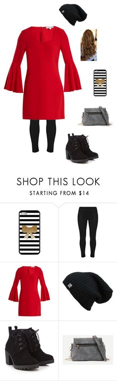 """""""Christmas tree lighting"""" by flutelyfe on Polyvore featuring Elizabeth and James, Red Herring and ootd"""