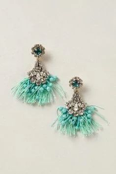 """Anthropologie Melusina Tassel Earrings"" https://sumally.com/p/1482787"