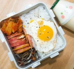 [ soonhoon ] call me daddy Kawaii Cooking, Bento Recipes, Korean Food, Korean Diet, Cafe Food, Aesthetic Food, Food Cravings, I Love Food, Asian Recipes