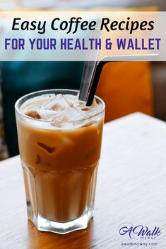3 Healthy Coffee Recipes That Are Better For Your Health and Wallet Hotdish Recipes, Real Food Recipes, Drink Recipes, Recipies, Cocoa Tea, Macro Meals, Bariatric Recipes, Smoothie Drinks, Chicken