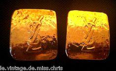 eBay, c'est vous! Achetez SUPERBES GRANDES BOUCLES D OREILLES YVES ST LAURENT YSL VINTAGES A CLIP DOREES dans la catégorie Bijoux, montres, Bijoux fantaisie, Boucles d'oreilles sur eBay, au format Enchères ou à Prix fixe!