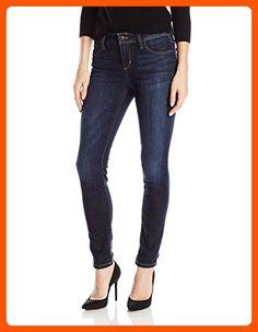 51b1192d Joe's Jeans Women's Icon Midrise Skinny Ankle Jean in, Rikki, Dark wash  with hand sanding.