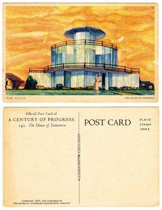 House of Tomorrow, George Fred Keck (1933)