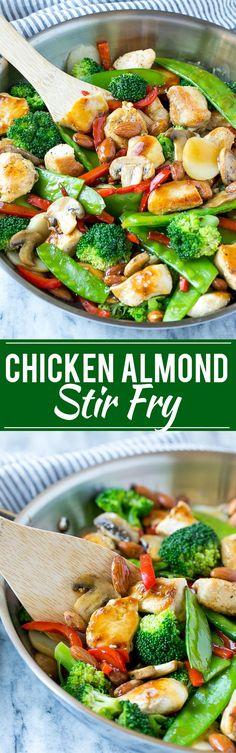 Chicken Almond Ding