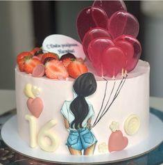 Cake Frosting Designs, Cake Designs For Kids, Festiva, Sugar Bread, Bag Cake, Pan Bread, Pastries, Panna Cotta, Cakes