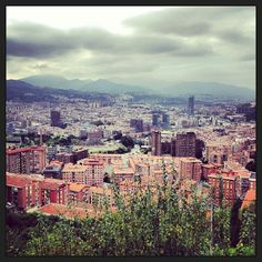Kate Zaharra - Outside dining with panoramic views of Bilbao